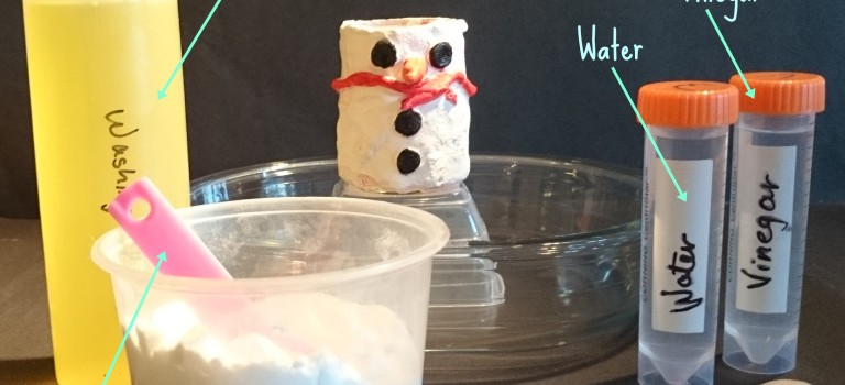 The erupting snowman – a Christmas science experiment